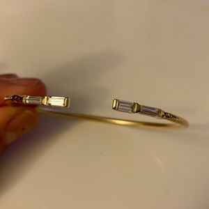 Nadri Geo-Flex Cuff bracelet Gold